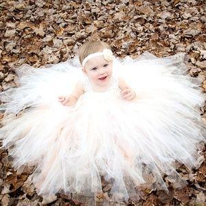 Alora Safari Dresses - Alora Safari Couture Tutu Baby Girl Dress/Headband